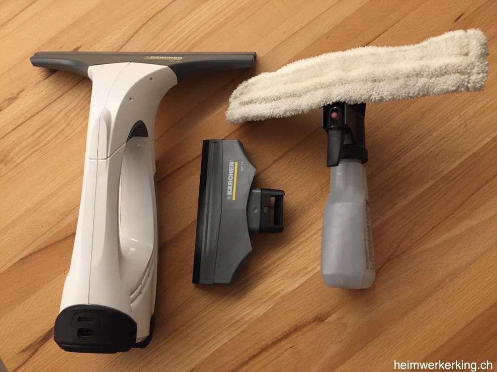 Kärcher Reinigungsset mit 2 verschieden breiten Sauglippen