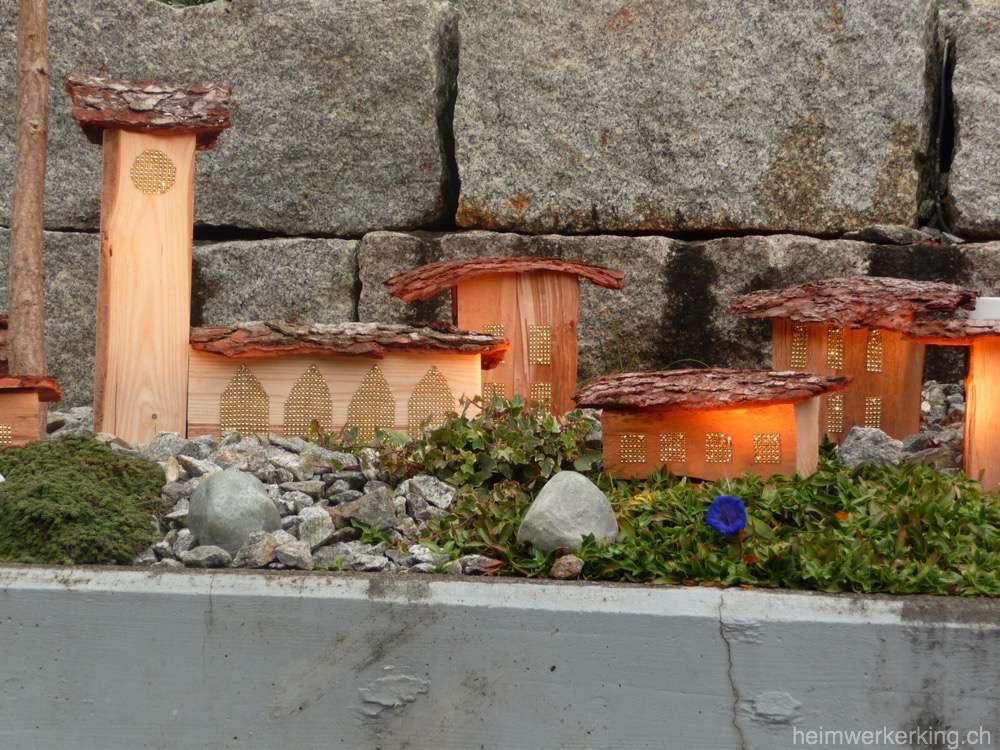 Das Adventsfenster Dorf