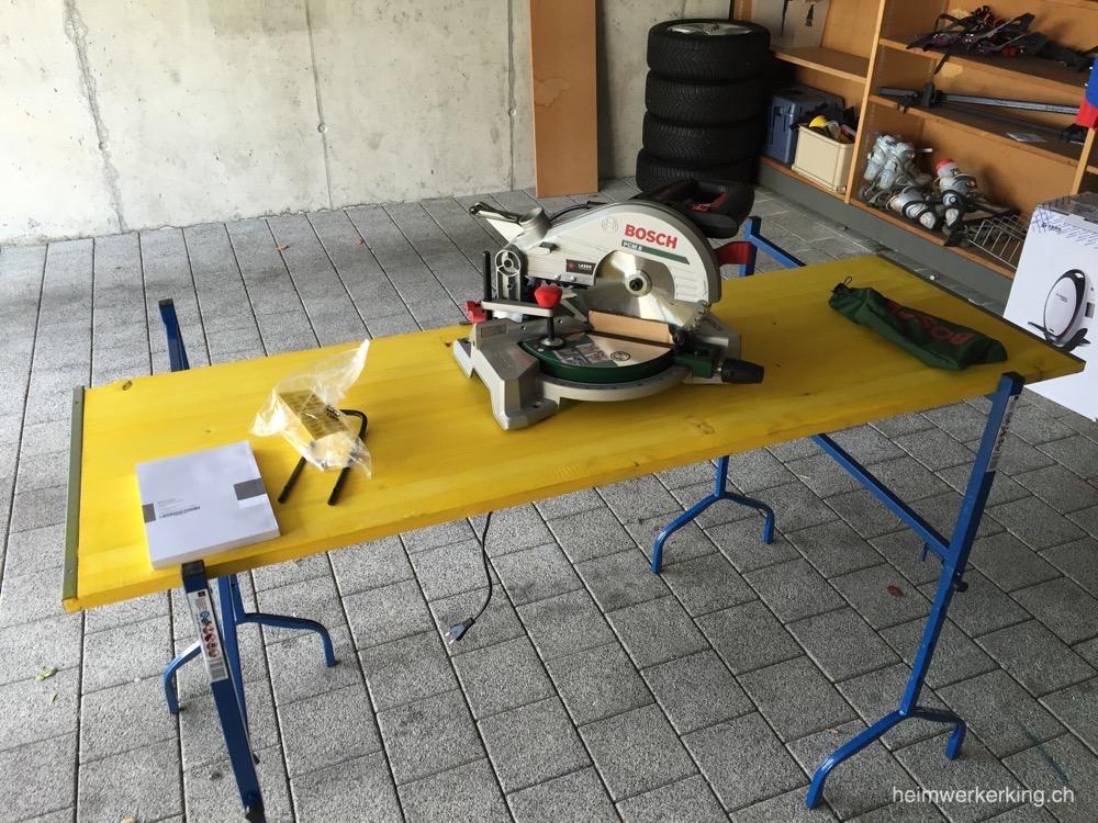 Bosch PCM 8 Arbeitsplatz mit Schaltafel