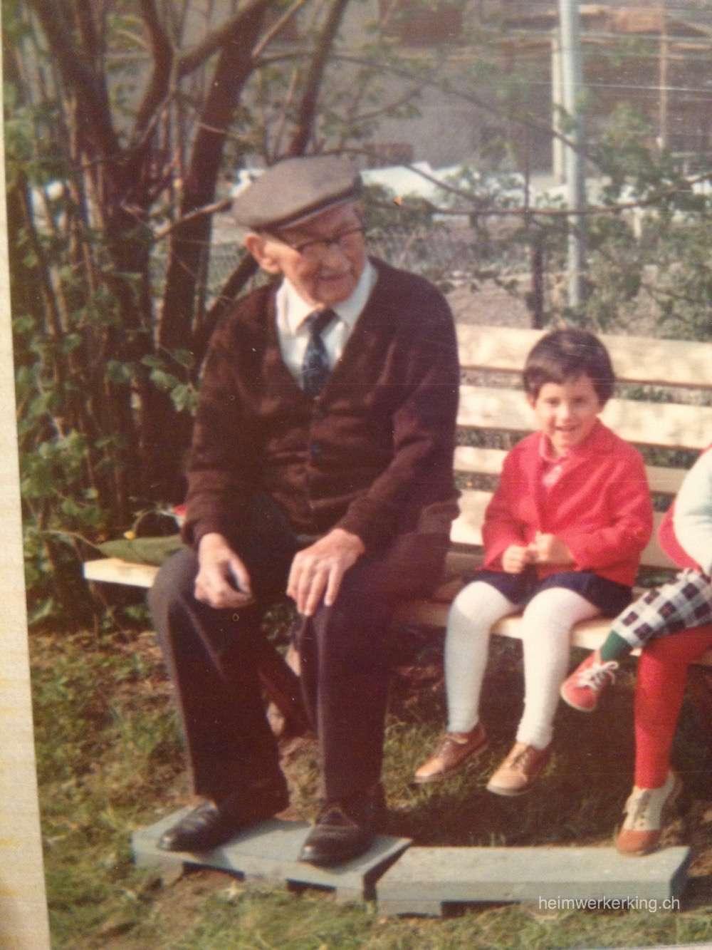 Mein Urgrossvater und ich